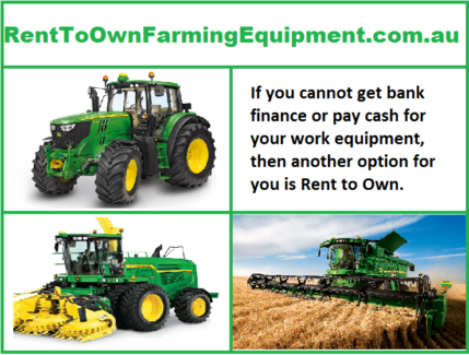 Rent to Own Farming Equipment
