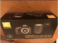 Brand New Nikon Camera D5600 + 18-140mm VR Kit