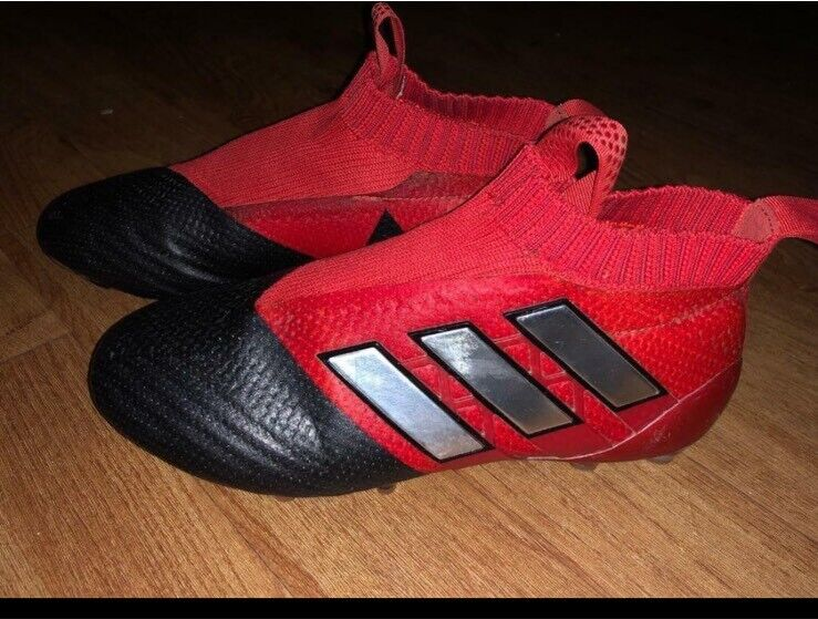 low priced 96f0a d0c66 Boys Adidas Ace 17+ sock football boots UK 4 | in Falkirk | Gumtree