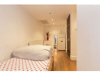 Fine Lovely Big Twin Room with Private Bathroom