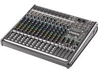 Mackie mixing desk