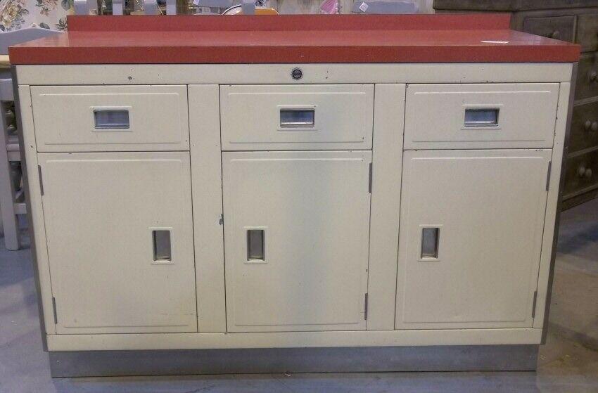 Vintage Paul Metal Craft Triple Stainless Steel Kitchen