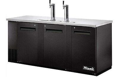 Migali C-dd72-3-hc Commercial Direct Draw Refrigerator Cooler Beer Dispenser