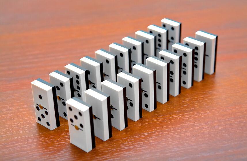 domino wie viele steine