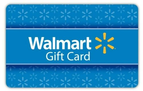 Walmart Gift Card *Card shipped Fast *Brand New *$10, $25, $50, $75, $100