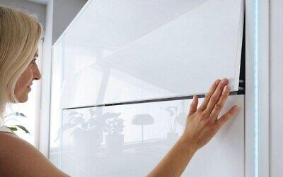 Cama Plegable de Pared Concept Lenart 140x200 Vertical Blanco Armario