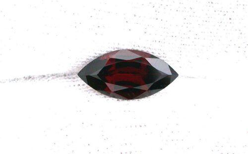 One 12x6 12mm x 6mm Natural Marquise Garnet Gem Stone Gemstone EBS2661