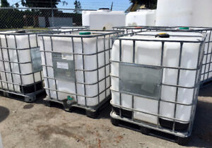 1000L Cage Tanks - near Potable Water Quality