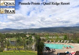 FURNISHED 2 Bedroom Quail Ridge Resort Pinnacle Pointe