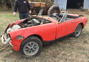 1972 / 73 MG Midget complete original parts car
