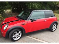 2005 Red Mini Cooper 1.6L Petrol with the Chilli Pack
