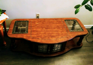 Solid wooden coffe table