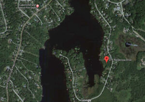 WATERFRONT BUILDING LOT IN LAKE ECHO