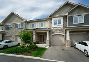 Stunning Townhome In The Heart Of Waterdown!