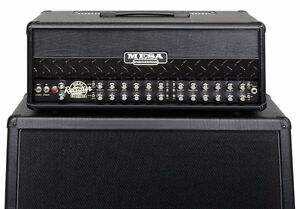 Roadster Dual Rectifier Mesa Boogie 100Watt Amp and 4X12 O/S Cab London Ontario image 2