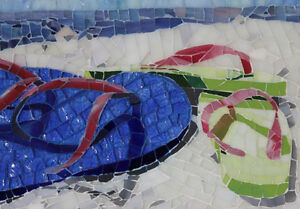 Custom stained glass mosaics-Created for you