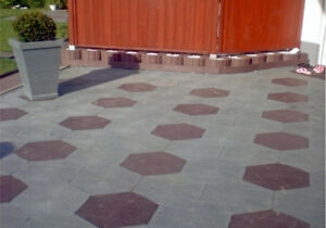 Eco friendly driveways, patios, lane ways and parking lots