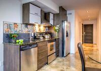 Nouveau Condo loft look industriel spacieux Meubler Rosemont