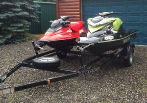 Excellent Sea Doo Package For Sale Including Trailer