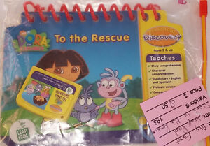 LeapFrog My First LeapPad Educational Book: Dora The Explorer London Ontario image 2