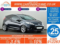 2010 FORD FIESTA 1.6 ZETEC S GOOD / BAD CREDIT CAR FINANCE FROM 25 P/WK