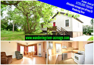 FOR SALE 2bdrm home on 2 acres, just off hwy63 WANDERING RIVER