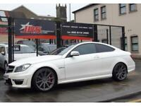 2012 Mercedes-Benz C Class 6.3 C63 AMG MCT 7S 4-MATIC 2dr