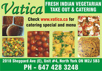 Fresh Indian Vegetarian Food