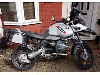BMW R1150GS ADVENTURE 2005 silver Excellent runner 1 owner full history 74k full BMW luggage .