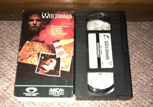 WITCHBOARD VHS CULT HORROR MOVIE (1986) TAWNY KITAEN