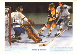 Prudential Poster- Bobby Orr, Great Moments in Canadian Sport