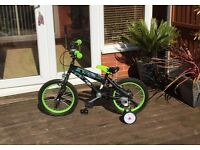 Ben 10 bike for ages 4 and up