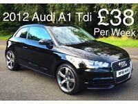 2012 AUDI A1 TDI 3 DOOR***FINANCE AVAILABLE***IMMACULATE CAR***FREE ROAD TAX