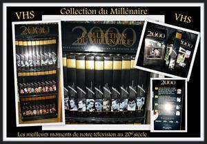 Collection du Millénaire (VHS -DVD) du 20 ieme siècle..