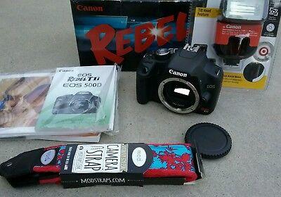 Цифровой фотоаппарат Canon EOS Rebel T1i
