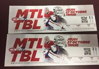 Montreal Canadiens Tickets - Billets
