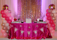 Candy Buffet 4 Wedding / Sweet 16 / Party / Shower / Quinceanera