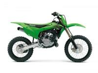KAWASAKI KX 85 2021 MOTOCROSS BIKE BRAND NEW SMALL WHEEL