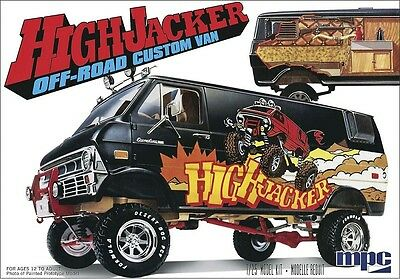 MPC Model Kits [MPC] 1:20 HighJacker Off-Road Custom Ford Van Model Kit MPC813