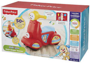** New in box** never opened - FisherPrice Laugh & Learn Scooter
