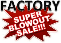 SALE SALE SALE Massive Inventory Reduction SALE!