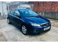 2009 Ford Focus 1.6 ZETEC 5d 100 BHP Hatchback Petrol Manual