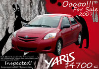 Excellent deal to get a Yaris
