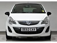 2012 White Vauxhall/Opel Corsa 1.2i 16v (85ps) Limited Edition (a/c) -1 OWNR