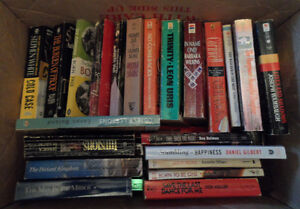 For Sale is a box of  used 65   Books Various Titles Edmonton Edmonton Area image 2