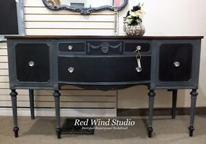 Skyline and Raven Sideboard by Red Wind Studio Kitchener / Waterloo Kitchener Area image 1