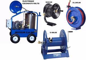 Laveuse pression eau chaude électrique 4,000 lbs avec 4 GPM