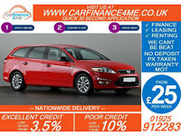 2012 FORD MONDEO ESTATE 1.6 TDCI EDGE GOOD / BAD CREDIT CAR FINANCE FROM 25 P/WK