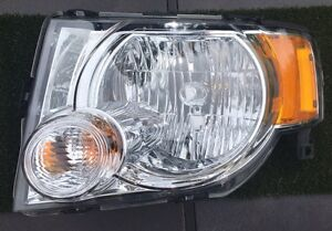 Drivers side headlight replacement. 2010 ford escape xlt