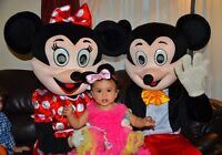 Rent Mickey & Minnie Mouse to your Birthday Party or any Event